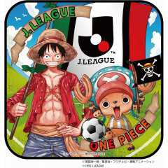 [ONE PIECE×J.LEAGUE] ルフィ&チョッパー ミニタオル JOPCL0002